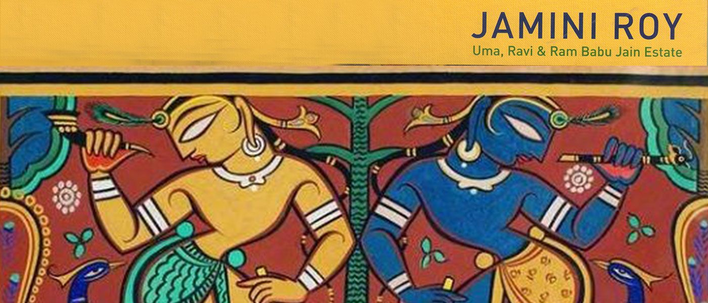 Jamini Roy - Carved Contours