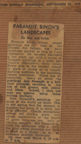 pressclipping/1970s/paramjit singh landscapes,sep.jpg
