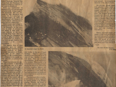 pressclipping/1980s/R.S.Bisht Bisht`s spectacle of blue himalayas,1987,oct.jpg