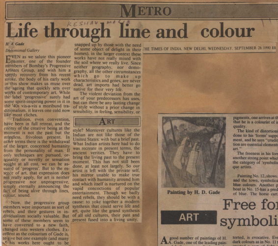 pressclipping/1990s/H.A.Gade Life through line and colour,1990,jan.jpg