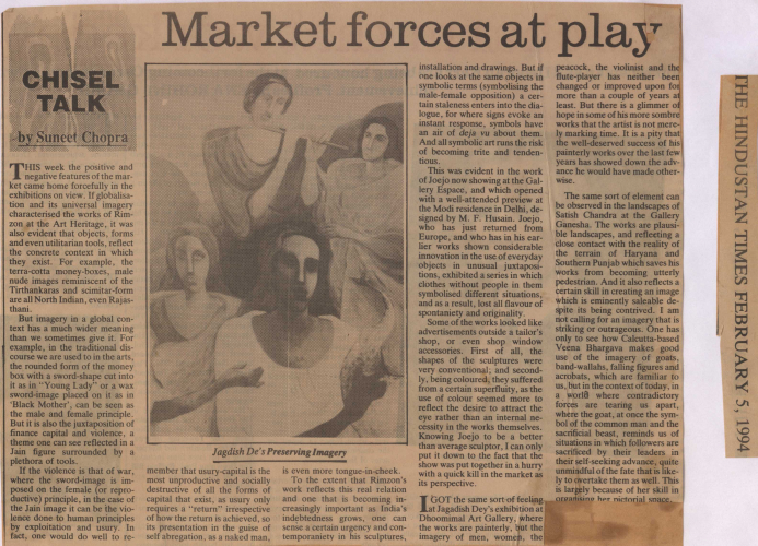 pressclipping/1990s/Jagdish Dey Market forces at play,1994,feb.jpg