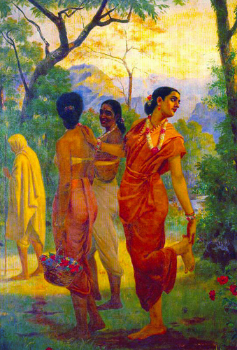 Image result for shakuntala ravi verma